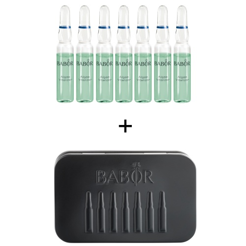 ALGAE VITALIZER AMPOULES with Travel Tin Gift Set
