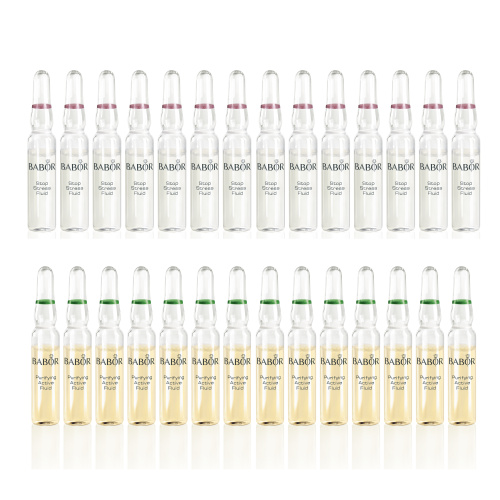 Calm & Purify: 28-Day Ampoule Set (Valued at $159.80)