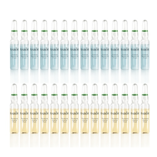 Clear & Balanced: 28-Day Ampoule Set (Valued at $139.80)