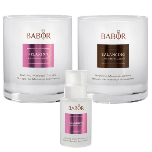 BABOR SPA: Relax & Unwind Set (50% OFF! Valued at $120)